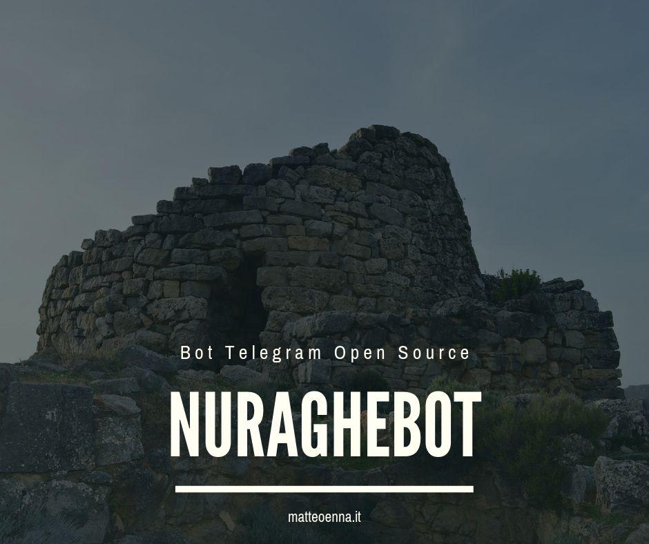 NuragheBot, Bot Telegram per la Sardegna