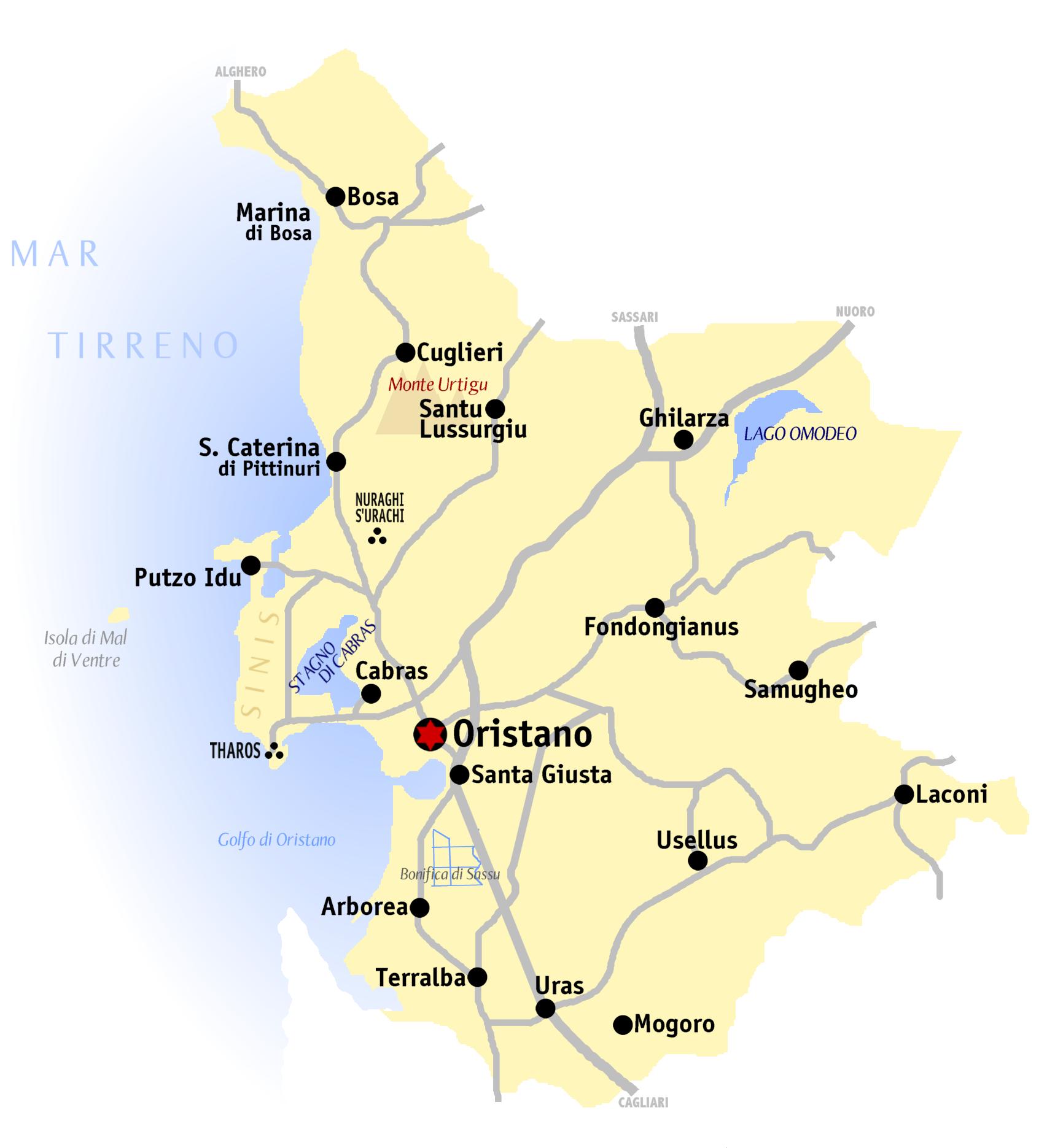 Sardegna: Oristano news, il canale telegram