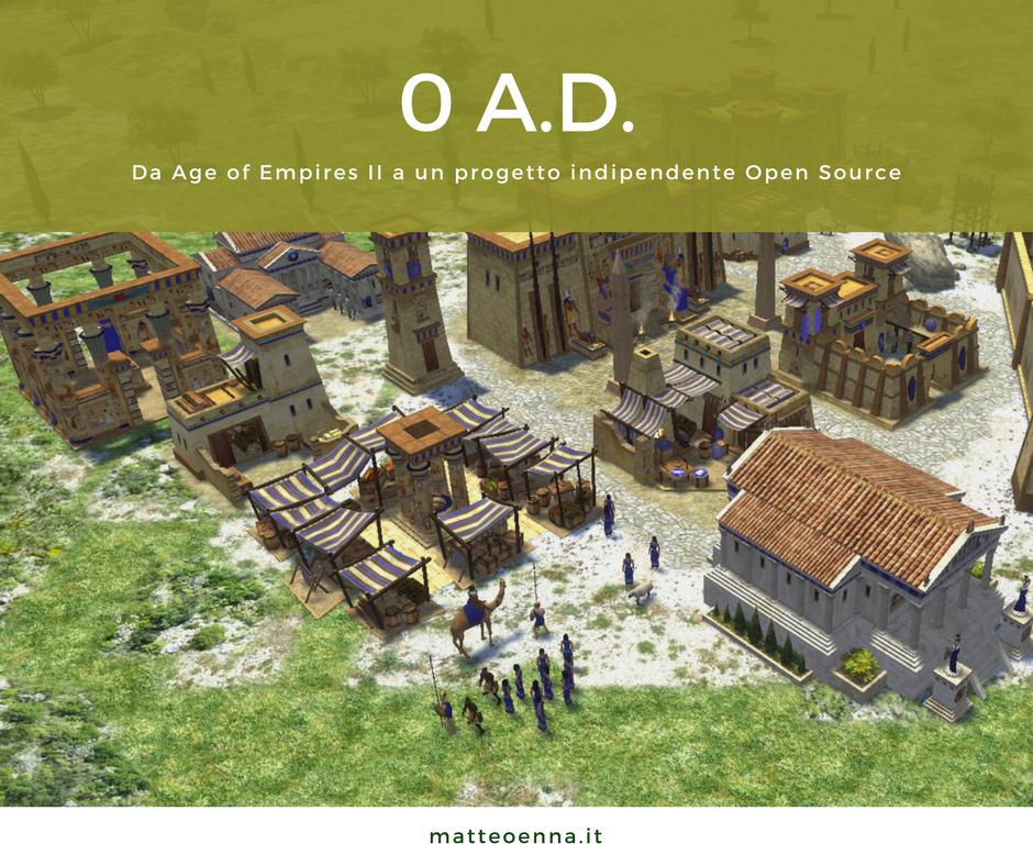 0AD, da Age of Empires all'Open Source