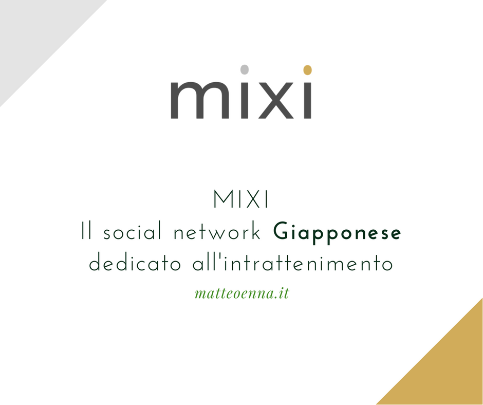 Mixi, il social network (Open Source Friendly) Giapponese