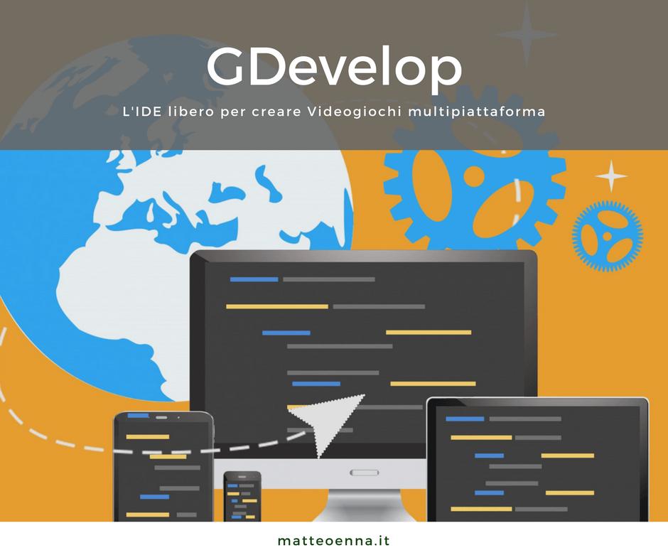 GDevelop, come per creare videogiochi multipiattaforma