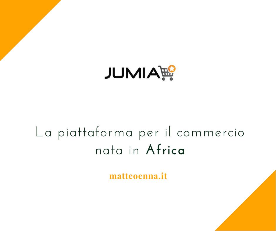 Jumia, la piattaforma per il commercio africana
