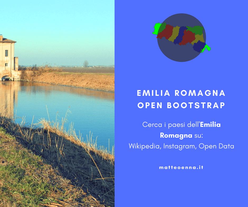 Italia: Emilia Romagna Open Bootstrap