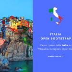 Italia Open Bootstrap