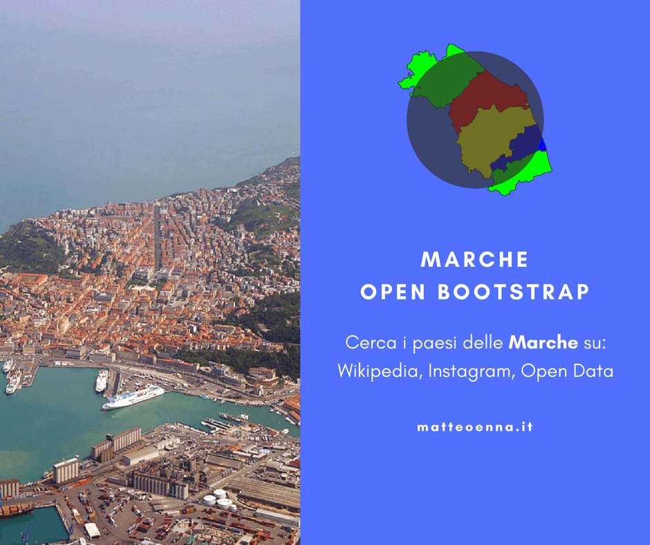 Nuovo fork: Marche Open Bootstrap