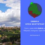 Umbria Open Bootstrap
