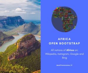 Africa Open Bootstrap En