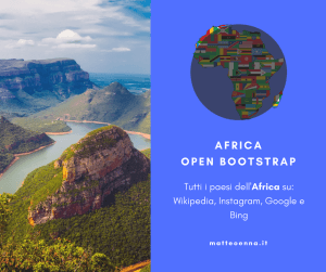 Africa Open Bootstrap