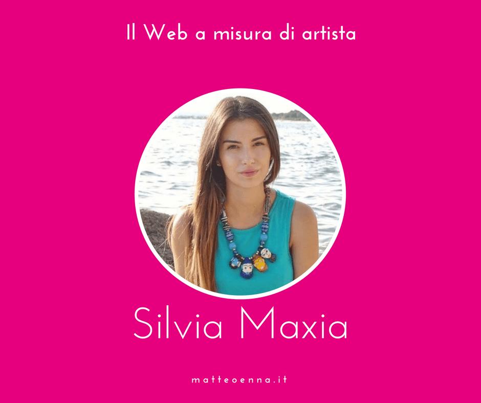 Il Web a misura di Artista, intervista a Silvia Maxia