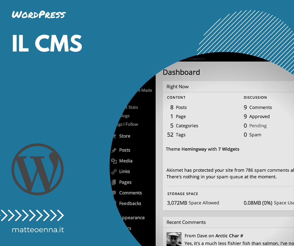Web e CMS: il mio parere su WordPress