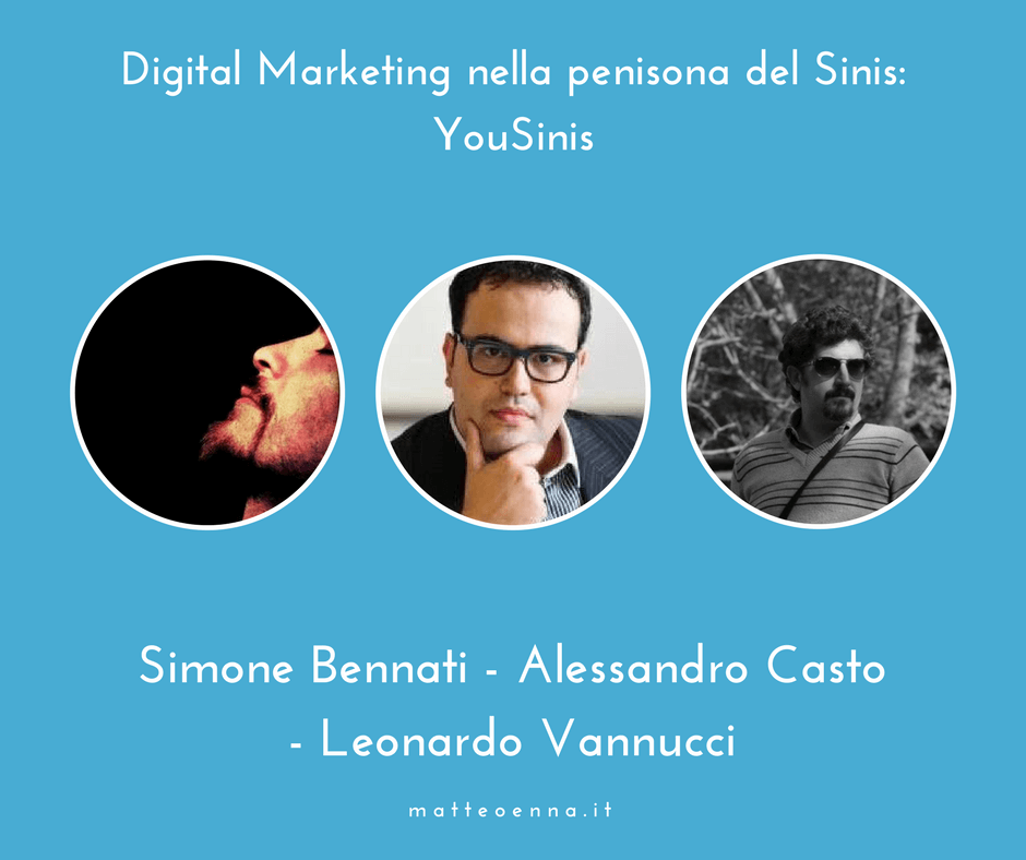 Digital Marketing e territorio: intervista al fondatore di YouSinis