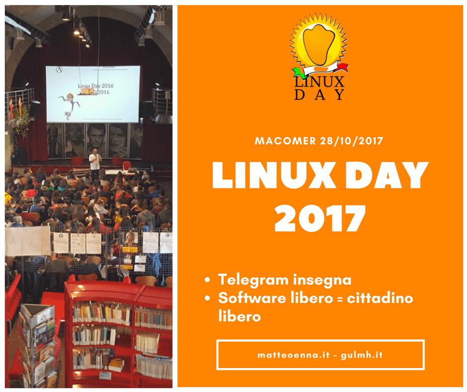 Linux Day 2017 a Macomer, una giornata sul Software libero