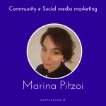 Community e Social Media intervista a Marina Pitzoi