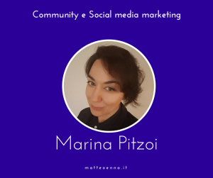 Community e Social Media intervista a Marina Pitzoi