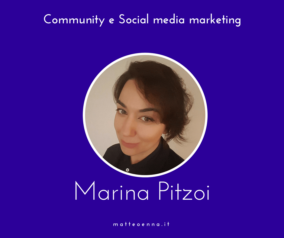 Community e Social Media: intervista a Marina Pitzoi