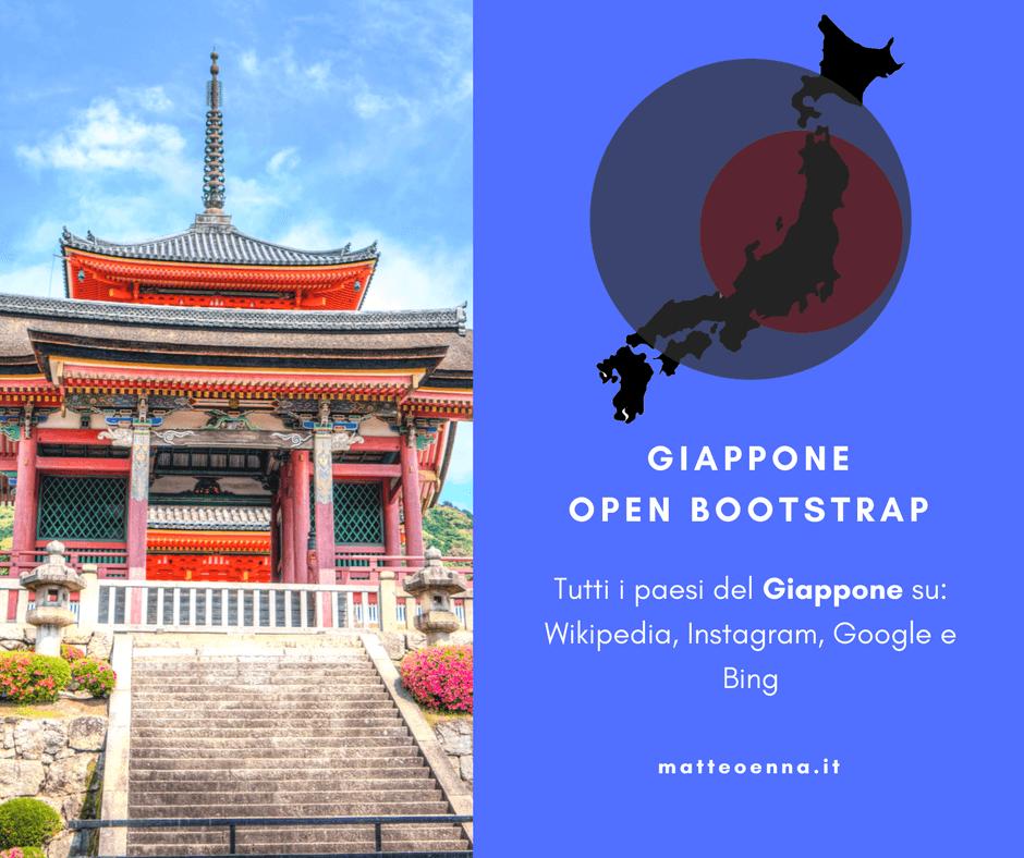 Da isola ad isola: Japan Open Bootstrap