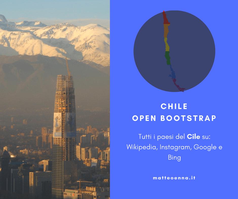 Un salto in America Latina: Chile Open Bootstrap