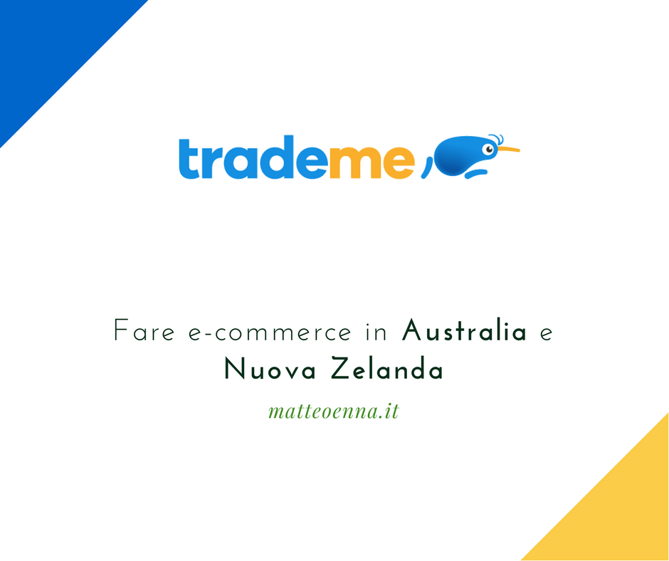 Trade Me, e-commerce in Australia e Nuova Zelanda