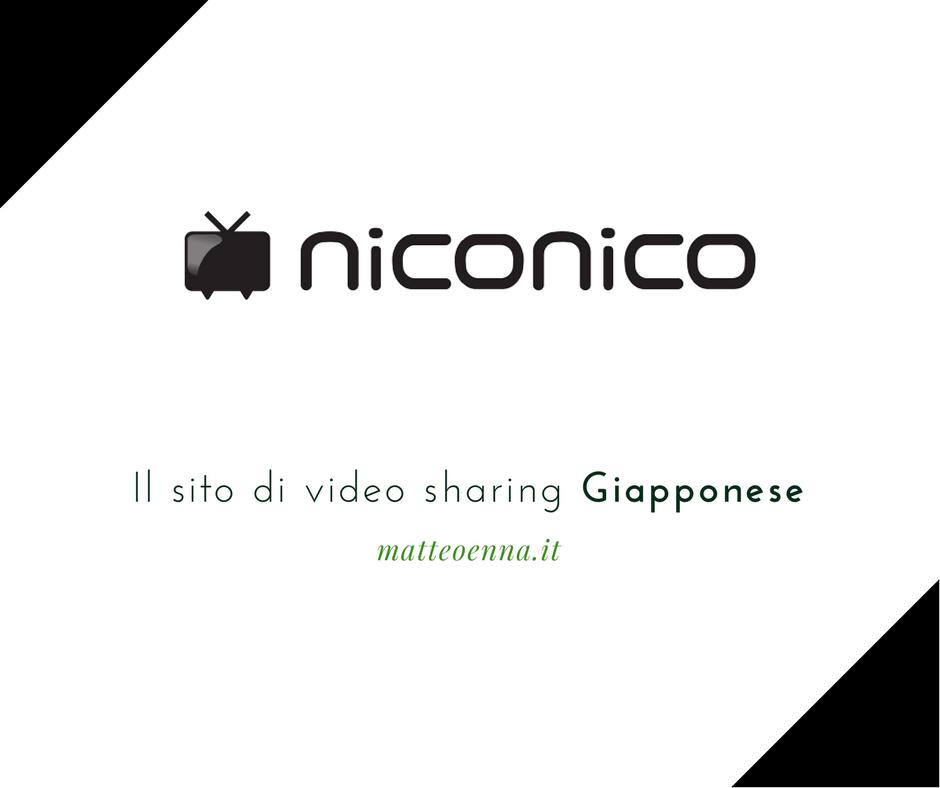 Niconico, il sito di video sharing Giapponese