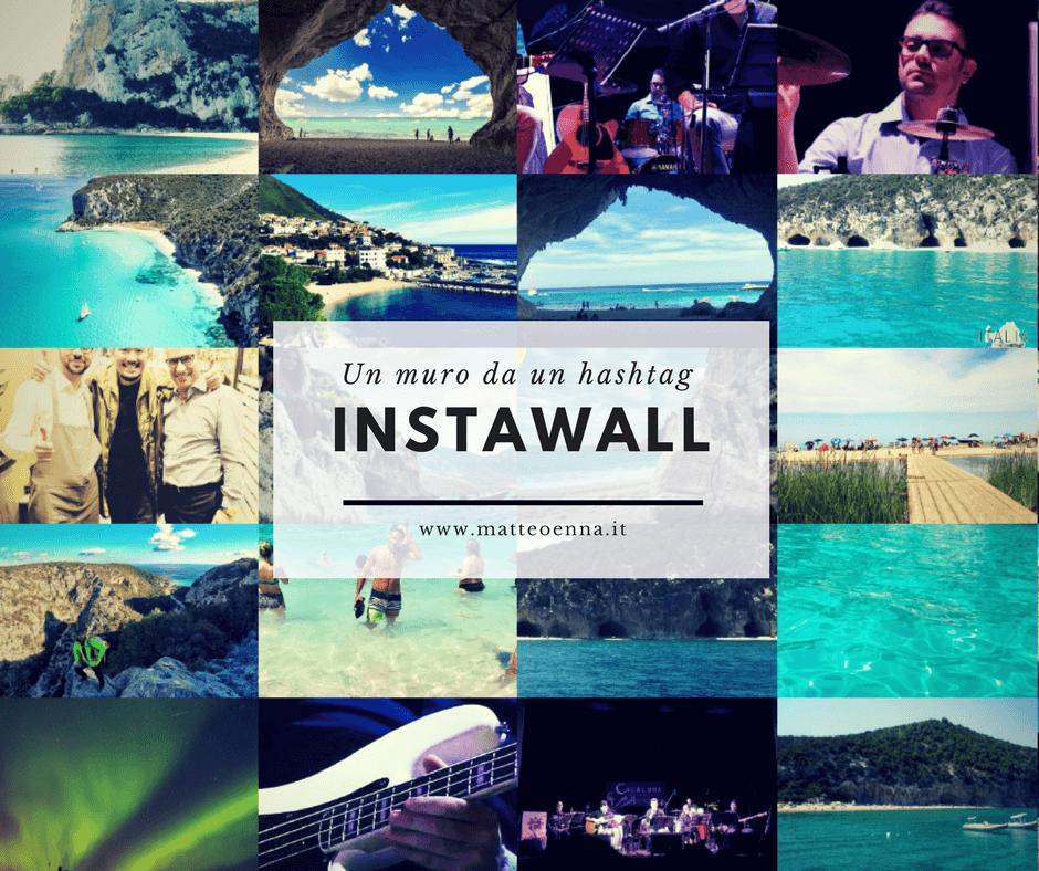 Instawall, una parete da un Hashtag Instagram