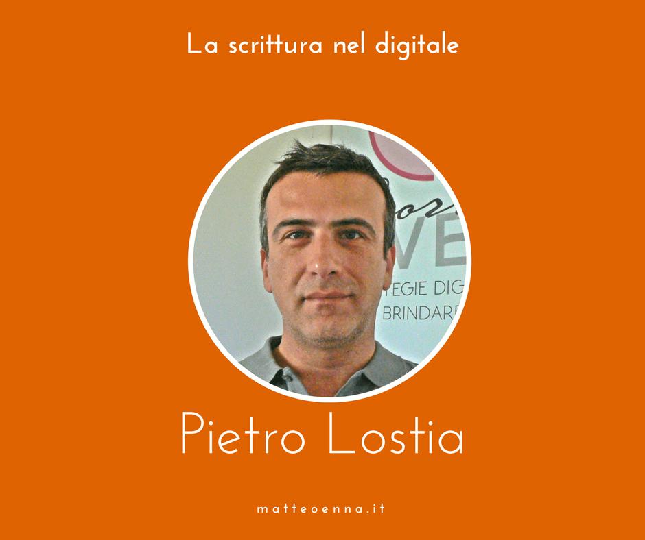 La scrittura per il web: intervista a Pietro Lostia