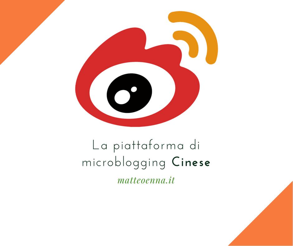 Social Network e Microblogging in Cina: Weibo