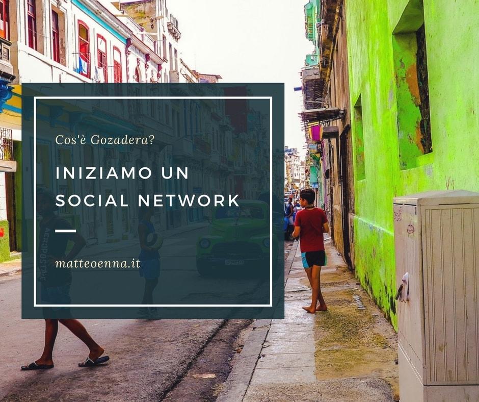 Gozadera, il social network: un nuovo esperimento