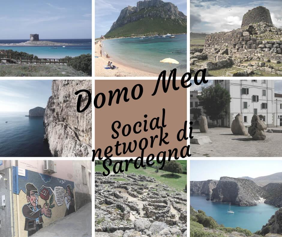 Social network di Sardegna: Domo Mea