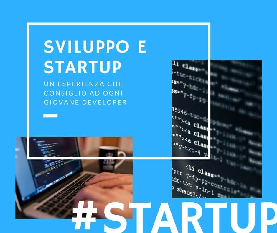 Lavorare in una Startup, un'esperienza che consiglio ad ogni developer