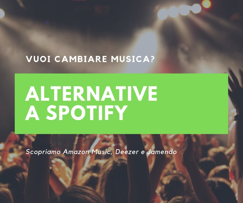 Alternative a Spotify: Deezer, Amazon Music e Jamendo