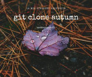 Git clone autunno