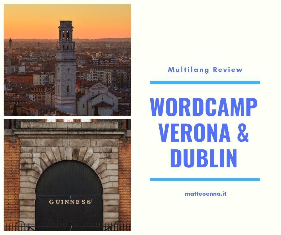 WordCamp Verona & Dublin
