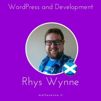 WordPress e sviluppo: intervista a Rhys Wynne