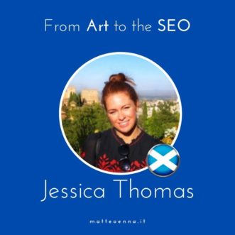 Jessica Thomas: dall'arte al SEO
