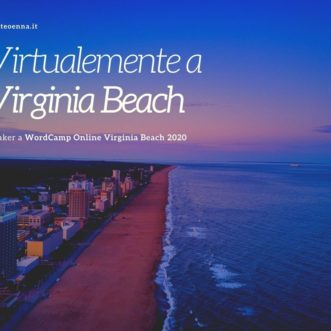 Speaker al WordCamp Virginia Beach Online: Si parla di ChatBot!